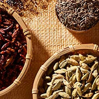 Herbs, spices and cooking aids
